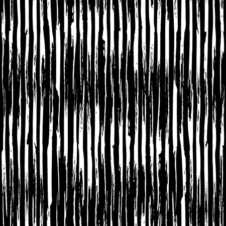 Vector seamless pattern of vertical chalk brush strokes. Hand-drawn chalk brush flourishes on blackboard background. Boundless background can be used for web page backgrounds, wallpapers, invitations. Illustration