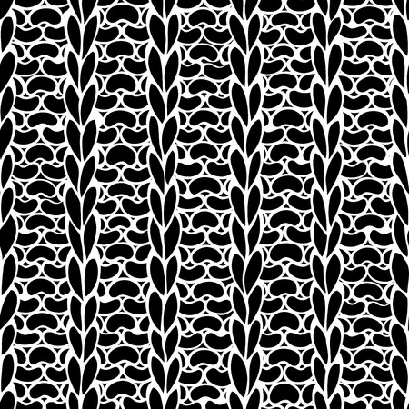 stitches: Seamless knitting pattern. 1x1 rib. Boundless background can be used for web page backgrounds, wallpapers, wrapping papers and invitations.