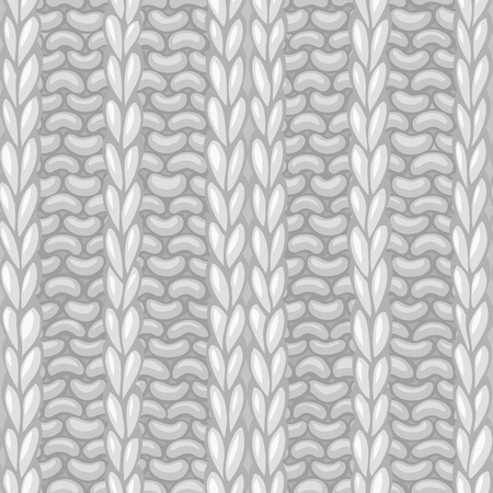 boundless: Seamless knitting pattern. Vector knitting texture. Vector high detailed stitches. Boundless background can be used for web page backgrounds, wallpapers, wrapping papers and invitations.