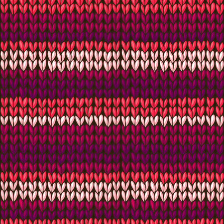 boundless: Seamless knitted pattern. High detailed stitches. Boundless background can be used for web page backgrounds, wallpapers, wrapping papers and invitations.
