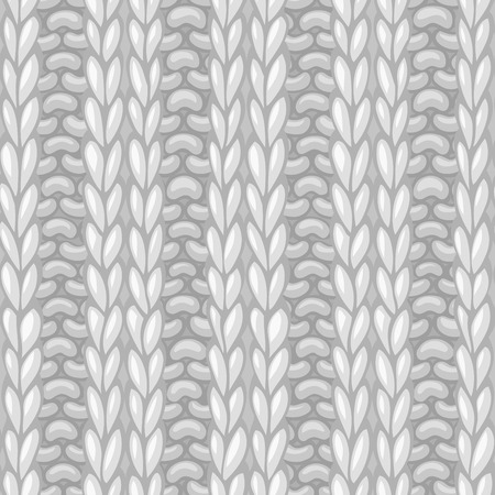 Seamless knitting pattern. 2x2 rib texture. Vector high detailed stitches. Boundless background can be used for web page backgrounds, wallpapers, wrapping papers and invitations.