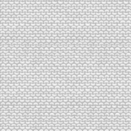 stockinet: Seamless Pattern of Garter Stitch. Stockinette stitch, reverse side. Vector high detailed stitches. Boundless background can be used for web page backgrounds, wallpapers, wrapping papers, invitations.