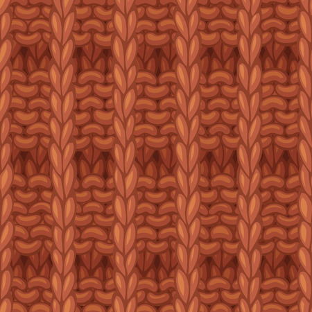 Hand-drawn jersey cloth boundless background. High detailed woolen hand-knitted fabric material.