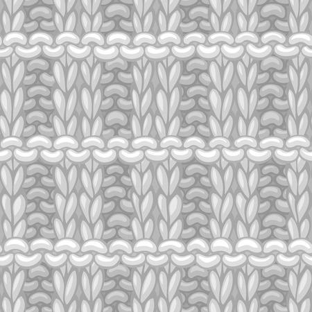 Materiał z ręcznie dzianiny bawełnianej. Wysokie szczegółowe dziania bezgraniczne tło. Ręcznie rysowana dzianina wełniana.