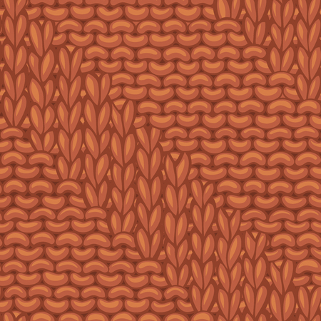 Ð¡otton hand-knitted fabric material. High detailed knitting boundless background. Hand-drawn woolen knitwear.