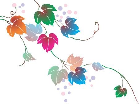 bloemen zijn een deel van de prachtige natuur Stock Illustratie