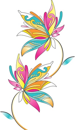 paisley floral: Fancy Border