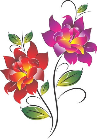 Flower Classic Vector