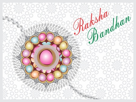 Raksha bandhan concept Illustration