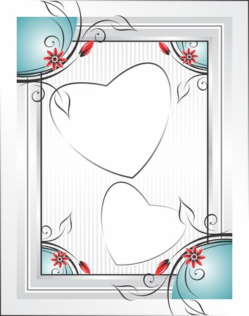 fancy design:  photo frame Illustration