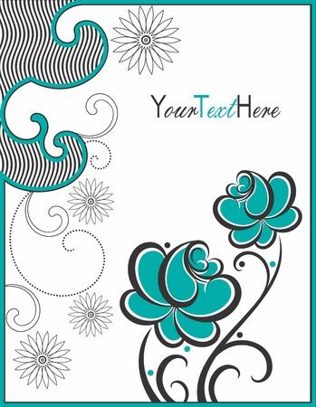 design elements: Creative greeting card