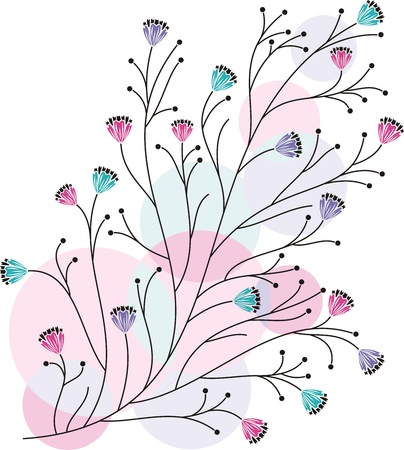 Creative flourish design Vector