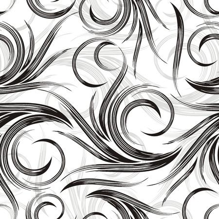 Vector swirly background