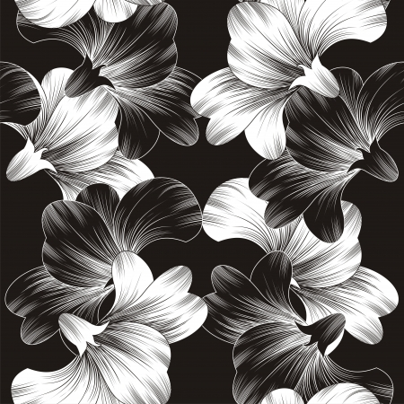Beautiful vector flower background