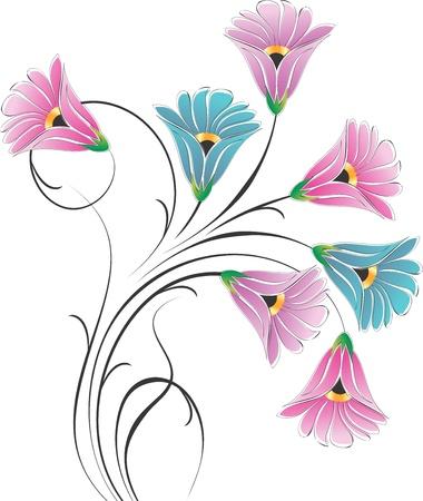 fancy flower bunch Illustration