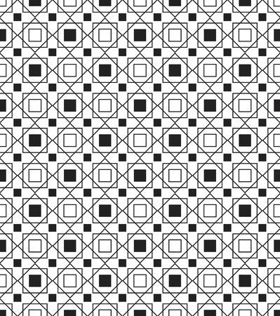 simple geometry: Simple geometric seamless texture Illustration