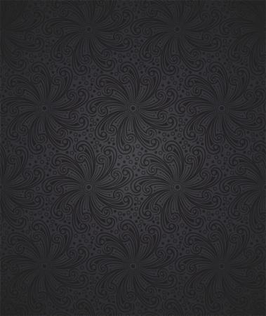 シームレスな花の壁紙