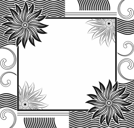designer frame Vector