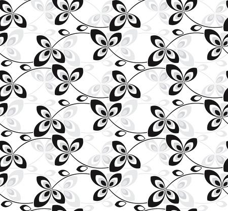 Creative seamless flower background Stock Vector - 15423212