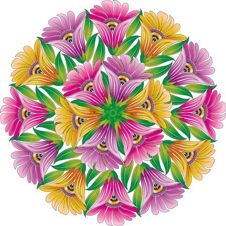 artistic flower: Beautiful bunch of flowers