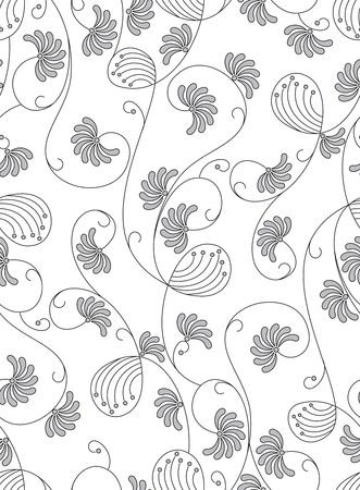 Classique papier peint sans soudure Vecteurs