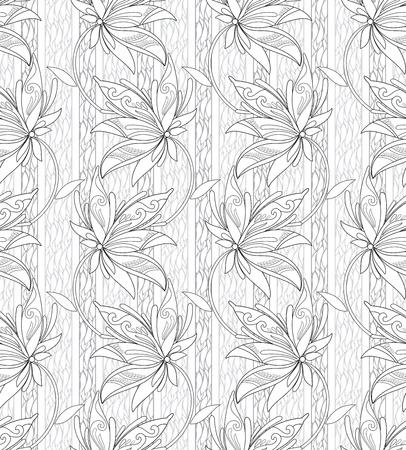 Beautiful seamless wallpaper Stock Vector - 15706535