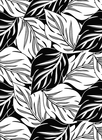 wrapper: Wallpaper of seamless vector leaves