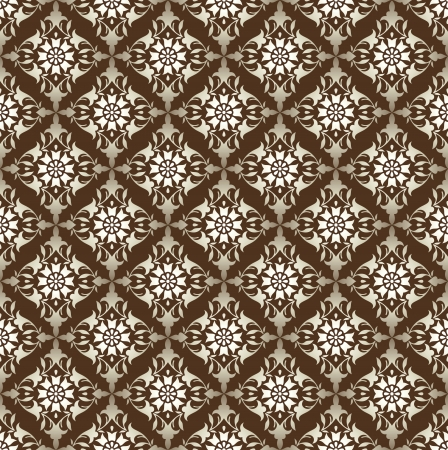 Seamless antique look  wallpaper Vector