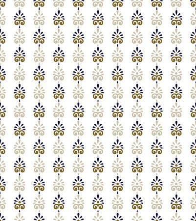 Seamless ornamental  background Vector