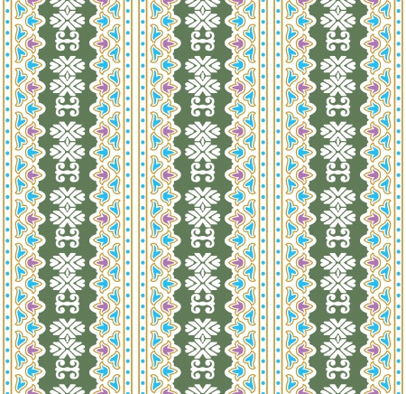 Antique seamless vector wallpaper Vector