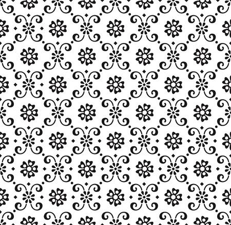 oriental flower: Paisley seamless wallpaper