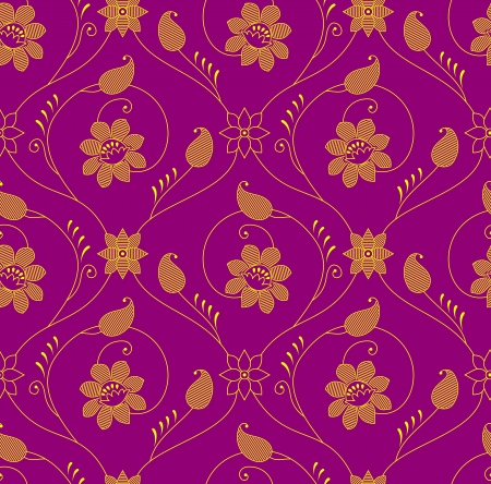 Antique seamless wallpaper Vector