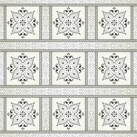 Traditional seamless rich wallpaper Vector