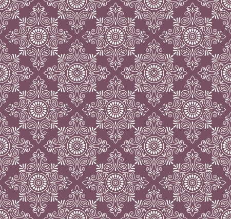 traditional silver wallpaper: Vector seamless paisley background