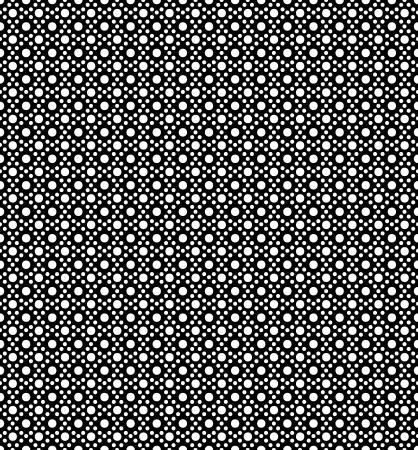 royal black wallpaper: Seamless circle pattern Illustration