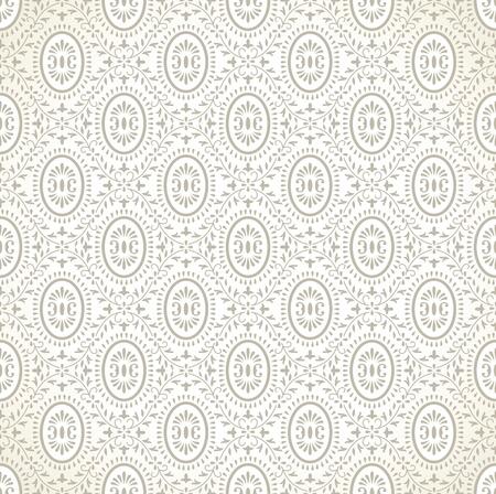Seamless traditional golden wallpaper Stock Vector - 16483117