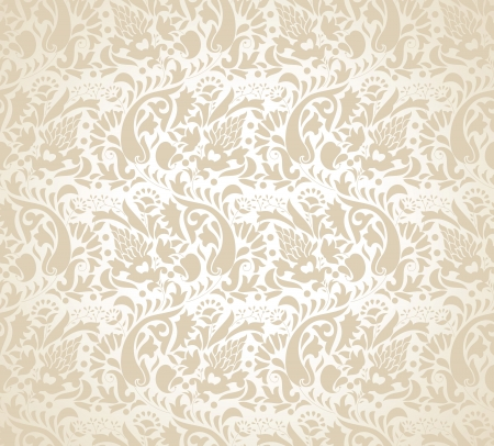 Paisley background for wedding card Stock Vector - 16573297