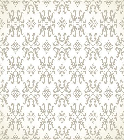 Seamless golden wallpaper Vector