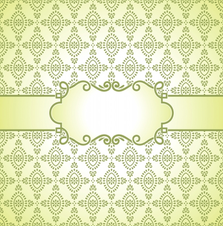 Vector banner and seamless background included Stock Vector - 16801982