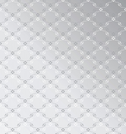 traditional silver wallpaper: Seamless silver background