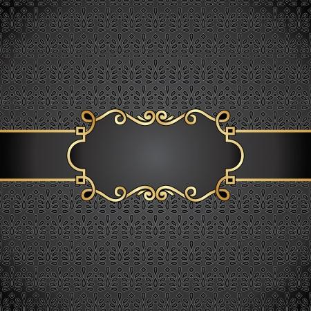 portadas de libros: Royal nota libro negro cubierta Vectores