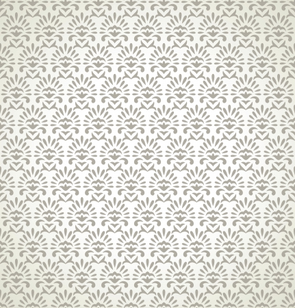 Seamless wallpaper in gold color Vector