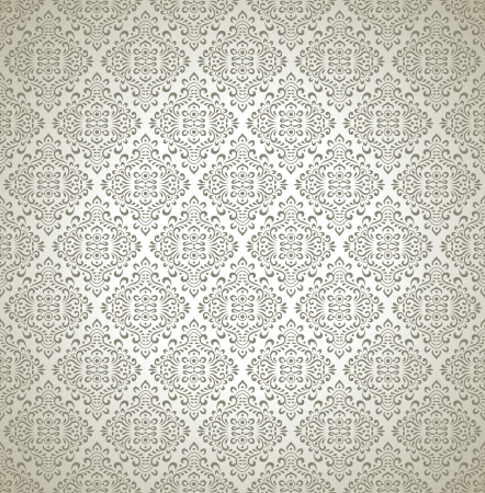 Traditional seamless designer wallpaper Vector