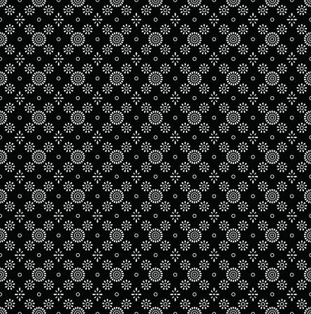 Seamless black wallpaper of paisley Stock Vector - 17009933