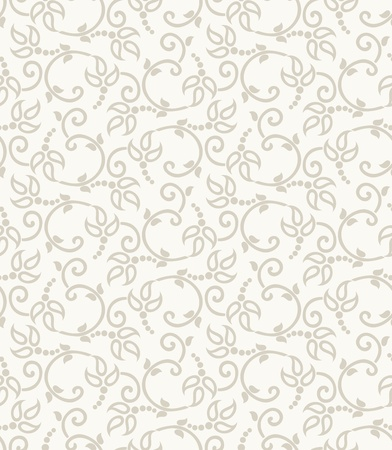 Seamless paisley background for wedding card
