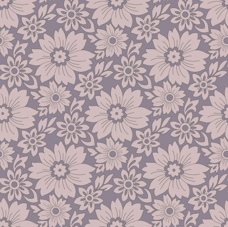mustered: Seamless-Floral background