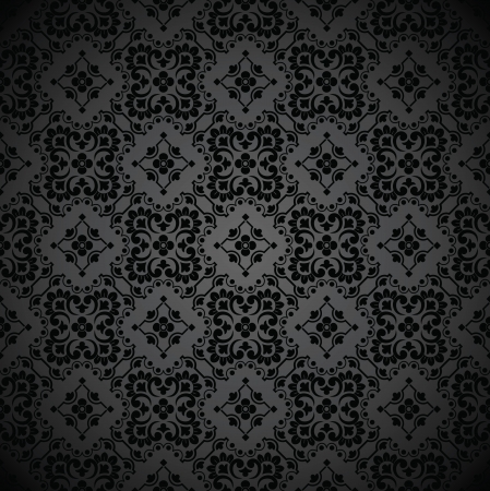 wealth abstract: Seamless royal black note book cover-wallpaper Illustration