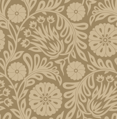 Seamless - Background for textile fabrics Vector