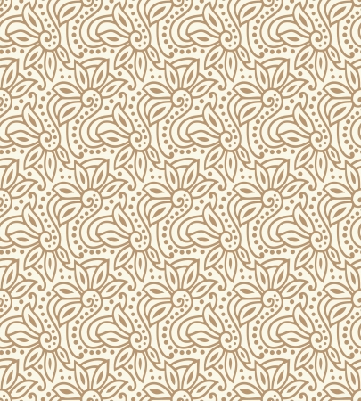 mustered: Seamless - Background for wedding card Illustration