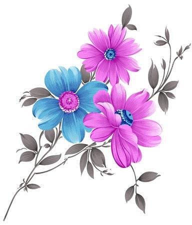 Fancy flower bunch